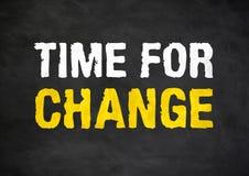 zmiana czasu fotografia stock