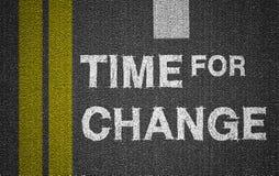zmiana czasu Obrazy Stock