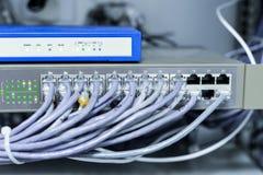 Zmiana i router Fotografia Royalty Free