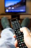 Zmiana kanały telewizyjni Obrazy Royalty Free