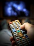 Zmiana kanały telewizyjni Zdjęcie Stock