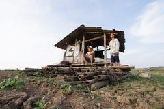 Zmiana klimatu przy Azja obrazy royalty free