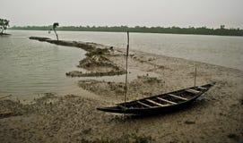 Zmiana Klimatu w Sundarban, India Zdjęcie Stock