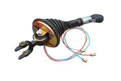 Zmianowa dźwignia gearbox fotografia stock