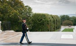 Zmiany ceremonia przy cmentarzem Arlington w Waszyngton obraz royalty free
