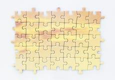 zmiany kolorów łatwa eps8 kawałków łamigłówka wektor Zdjęcie Stock