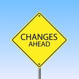 Zmiany Naprzód ilustracji