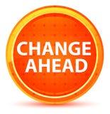 Zmiany Round Naprzód Naturalny Pomarańczowy guzik ilustracja wektor