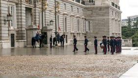 zmiany strażników Zdjęcia Royalty Free