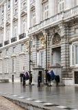 zmiany strażników Obrazy Royalty Free