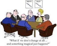 Zmiany zarządzanie ilustracja wektor