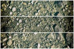 Zmielona tekstura, piasek powierzchnia, kamienny tło, dobry dla projektów elementów Zdjęcia Royalty Free
