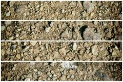 Zmielona tekstura, piasek powierzchnia, kamienny tło, dobry dla projektów elementów Obrazy Royalty Free