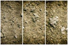 Zmielona tekstura, piasek powierzchnia, kamienny tło, dobry dla projektów elementów Zdjęcie Royalty Free