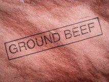 Zmielona wołowina Zdjęcie Royalty Free