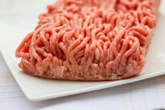 Zmielona wołowina zdjęcia stock