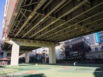 Zmielony golf, Japonia zdjęcie royalty free
