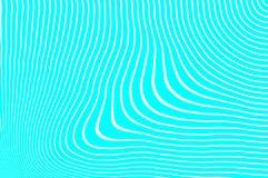 Zmieniać linie Niestały undulation ilustracji