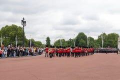 Zmieniać Strażową ceremonię w Londyn Fotografia Stock