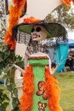 Zmienia przy Dia De Los Muertos Zdjęcia Royalty Free