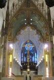Zmienia przy St Patrick ` s katedrą Zdjęcie Stock