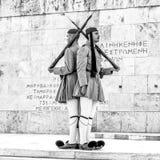 Zmienia strażnika w Ateny, Grecja obrazy stock