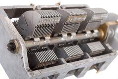Zmienny capacitor zdjęcie royalty free