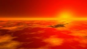 Zmierzch atmosfera ziemska zdjęcie wideo
