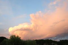 Zmierzch chmury Obraz Royalty Free