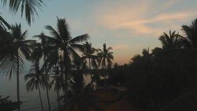 Zmierzch na dennym wybrzeżu Bali, Indonezja zdjęcie wideo