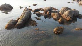 Zmierzch na Koh Samui wyspie w Tajlandia Obraz Stock