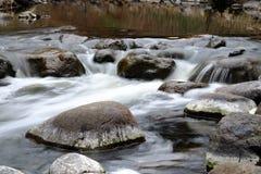 Zmierzch na rzece Obrazy Royalty Free