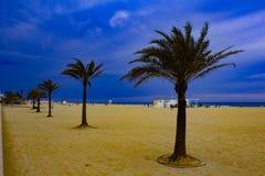 Zmierzch nad Hiszpania fotografia royalty free