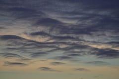 Zmierzch nad Malibu Pacyficznego oceanu linią brzegową Obrazy Royalty Free
