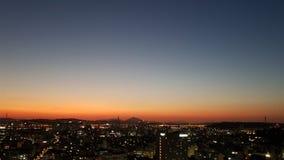 Zmierzch nad Seoul miastem fotografia royalty free