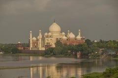 Zmierzch nad Taj Mahal Obraz Royalty Free