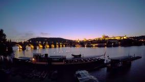 Zmierzch nad Vltava Czasu upływ zbiory