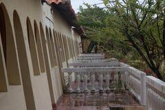 Zmierzch Nawadnia widoki wokoło Curacao wyspy karaibskiej zdjęcia stock