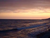 Zmierzch od Czarnego morza Zdjęcie Stock