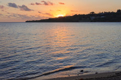 Zmierzch - Port Vila Fotografia Royalty Free