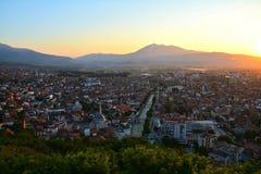 Zmierzch prizren Kosowo fotografia royalty free