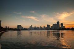 Zmierzch Sharjah UAE Zdjęcia Stock