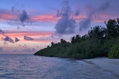 zmierzch tropikalny zdjęcie royalty free