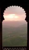 Zmierzch Udaipur obrazy stock
