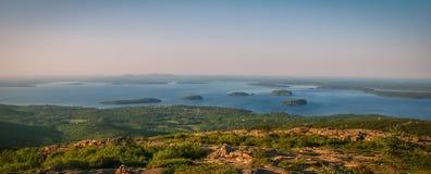 Zmierzch w Acadia obrazy royalty free