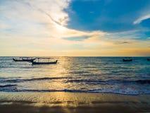 Zmierzch w Bali Zdjęcie Stock