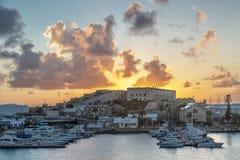Zmierzch w Bermuda Obrazy Royalty Free
