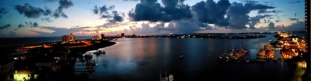 Zmierzch w Floryda zdjęcia royalty free
