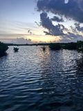 Zmierzch w Key West zdjęcia royalty free