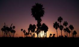 Zmierzch w Los Angeles Zdjęcia Stock
